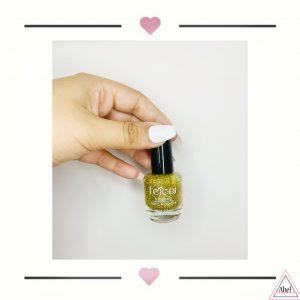 Esmalte-Brillo dorado